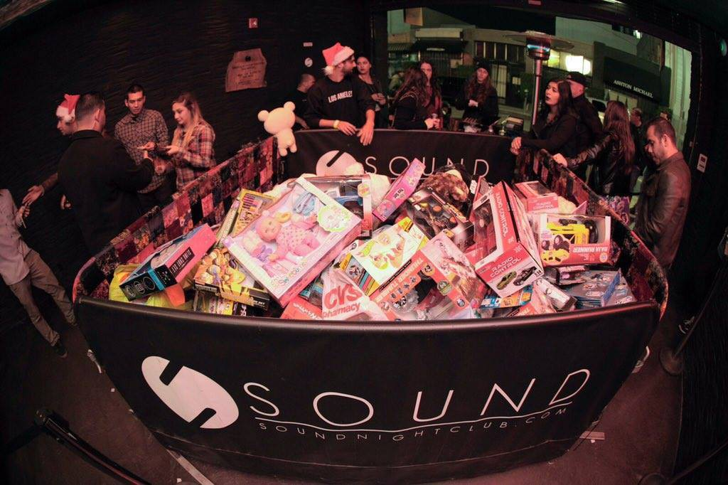 Toys collected at Hella Lit Christmas